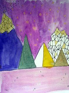 Art Journal-Seite von Britta Häusler für www.danipeuss.de
