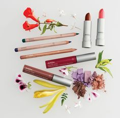 nice AVEDA Indian Sunset make-up collectie