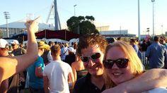Marco & ik op het bierfestival