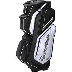 TaylorMade TM15 Catalina Golf Cart Bags, White/Black - http://golf.shopping-craze.com/index.php/2016/05/25/taylormade-tm15-catalina-golf-cart-bags-whiteblack/