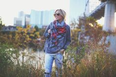 The 10 Plaid Scarves you need for Fall | Styled Set