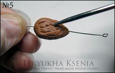 Gumpaste almonds