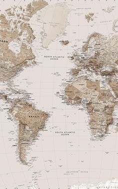 Give your home a classic, intruiging look by incorporating world map wallpaper. Our range of world map murals features s Aesthetic Backgrounds, Aesthetic Iphone Wallpaper, Aesthetic Wallpapers, World Map Mural, World Map Wallpaper, World Maps, Wallpaper Earth, Travel Wallpaper, Beige Aesthetic