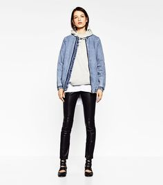 1f944c1266a8 This Is How Zara Girls Wear Their Bomber Jackets