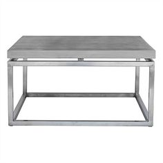 Modern Concrete Coffee Table 75x75cm