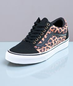 Vans-Old Skool Leopard Black/True White
