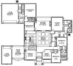 Main Floor Plan: 85-319
