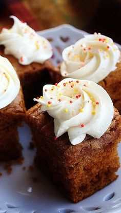 Pumpkin Gingerbread Cake with Spiced Cream Cheese Frosting