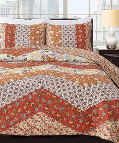 Look at this Karur Quilt Set on #zulily today!