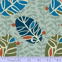 9556-0110, R37 LEAF PETITE by Greta Songe for Studio 37, Marcus Fabrics