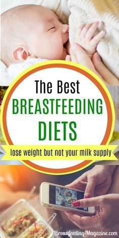 Finding a breastfeeding diet that works for you might be easier than you think without weaning or losing your breast milk supply. #breastfeeding #postpartum #diettips #momtips