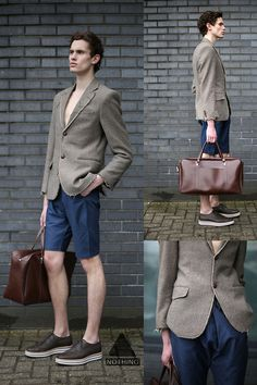 Nothing Style Vintage Jacket, Nothing  Nothing's Gathered Shorts, Vintage Bag, Prada Shoes