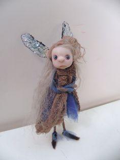 ooak poseable PISSED OFF pIXie fairy 203 royal by DinkyDarlings