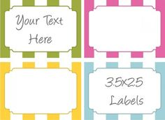free-bake-sale-food-labels