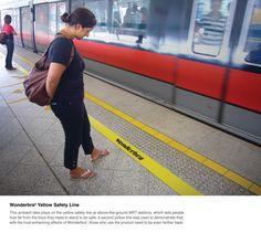 Wonderbra Safety Line by Euro RSCG, Singapore
