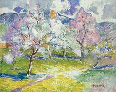 #JÁNOS_THORMA   *    Trees in the spring.