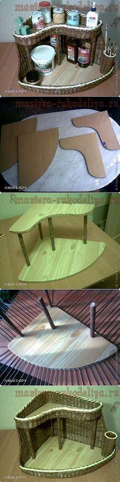 Мастера рукоделия - рукоделие для дома. Бесплатные мастер-классы, фото | Плетение из газет | Постила