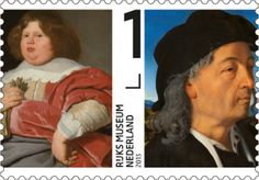 The Netherlands - Rijks museum Stamp. Design by Irma Boom, 2013