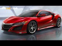 Production-ready #Honda #NSX revealed #Acura