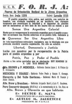 Arturo Jauretche History, Strength, Historia