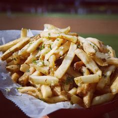 Safeco Field Garlic Fries...enough said. #Mariners #ILoveSafecoField