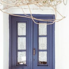 Most favorite blue door in the whole world (for it is the one I've been opening since a little girl) #bluedoor #crete