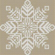 Gallery.ru / Snowflake - Cross Stitch - Emanuela62