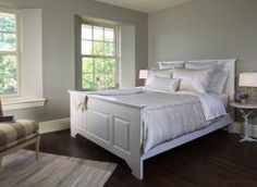 benjamin moore sea haze best cool paint colour for a south facing room - Kylie M Interiors