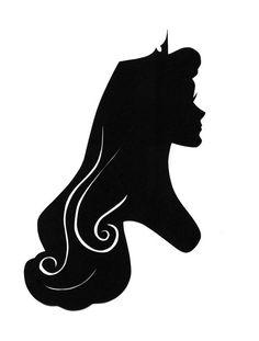 Aurora Disney, Disney Tees, Disney Art, Disney Font Free, Disney Fonts, Shadow Art, Silhouette Art, Disney Scrapbook, Disney Drawings
