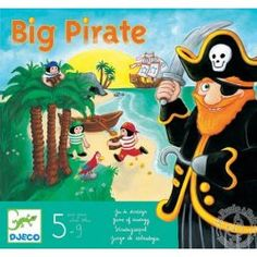 Jack le Pirate | Pirates Boardgames | Pinterest