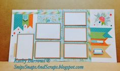 Snips, Snaps, and Scraps: May Stamp of the Month #Blossom #DotEmbossingFolder #QuatrefoilEmbossingFolder - visit for close-up photos