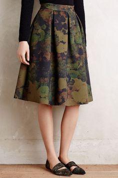 Camofloral Neoprene Skirt