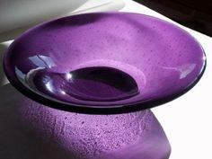 purple glass...