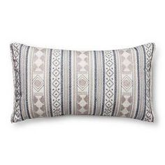 Blue Global Oversized Oblong Throw Pillow - Threshold™ : Target want two