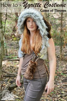 How to make a Game of Thrones Ygritte Costume DIY