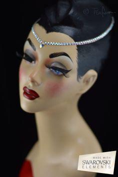 Ballroom & dancesport headband.