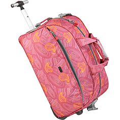 "J World Christy 20"" Rolling Duffel - Paisley - via eBags.com!"