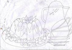 riscos de bules e xícaras   Riscos e desenhos de bules e xícaras!