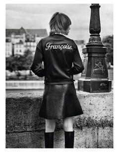 Vogue Paris Setembro 2014 | Edie Campbell por Alasdair McLellan [Editorial]