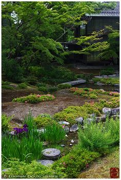 Murin-an (無鄰菴) is a Japanese garden in Kyoto, built by political and military leader Yamagata Aritomo between 1894 and 1898. It is an example of a classical Japanese promenade garden of the Meiji Period.
