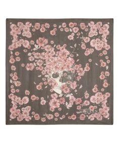 Alexander McQueen silk scarf