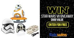 Enter the Epic Wins #StarWars VII Giveaway at  http://epicwins.us/giveaways/starwars/?lucky=34135 via @epicwinsus