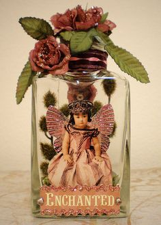 Enchanted Victorian Jar