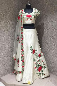 http://www.mangaldeep.co.in/lehengas/royal-offwhite-silk-designer-ready-made-lehenga-choli-6283 For more details contact us : +919377222211 (whatsapp available)