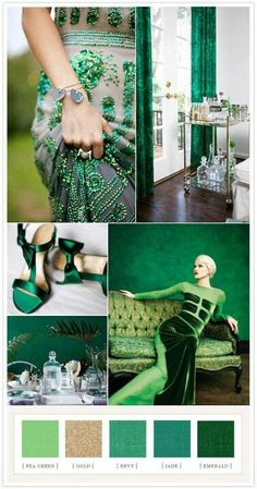 I'm addicted to these green turquoise colors with white & black & other colors...think about it guys