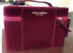 Dolce Gabbana Make Up Case Jewelry Train Box New | eBay