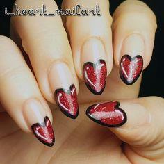 valentine by i_heart_nailart #nail #nails #nailart