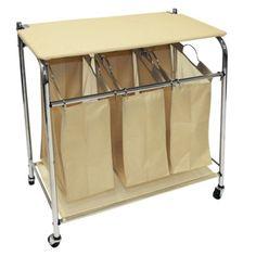 laundry sorter & ironing board~GENIUS!