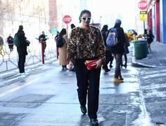 Preetma Singh at New York Fashion Week F/W 2014-15
