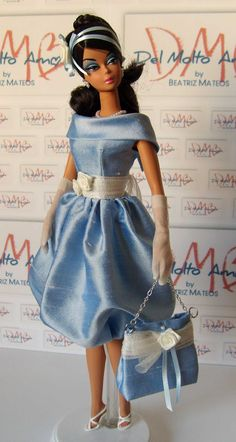 Sweet Dreams Fashion for Silkstone Barbie and by Delmoltoamore, $49.90